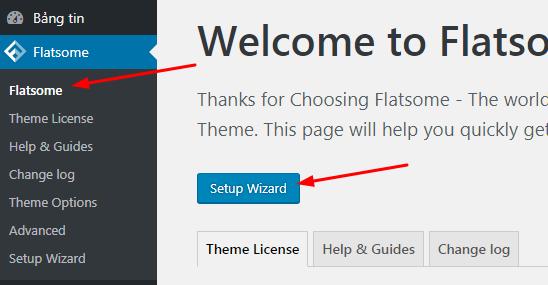 Hướng dẫn cài đặt Theme Flatsome bản quyền chi tiết